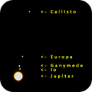 Jupiter and Galilean Moons,                                Gary JONES