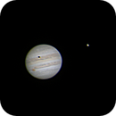 Jupiter with GRS and Ganymede shadow transit,                                Tom Campbell