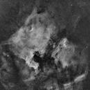 North America & The Pelican Nebula,                                Hytham
