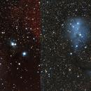 Comparison of IC 446 & IC447 in HaLRGB and LRGB,                                Piotr Dzikowski
