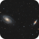 M81/M82 Bodes Galaxy and Cigar Galaxy,                                Kevin Ross