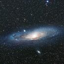 Andromeda Galaxy - M31 - a mosaic in progress,                                Ewam