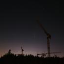 C/2020 F3 (NEOWISE) over Berlin - Part IIIa,                                Frank Rogin