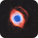 Helix Nebula (NGC 7293)  in the Hubble Palette,                                Chuck's Astrophot...