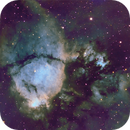 IC 1795, the Fish Head Nebula, SHO,                                Stephen Garretson
