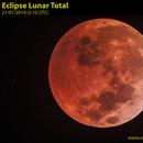 Total lunar eclipse,                                Carlos Alberto Palhares - OBSERVATÓRIO ZÊNITE
