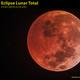 Total lunar eclipse,                                Carlos Alberto Pa...