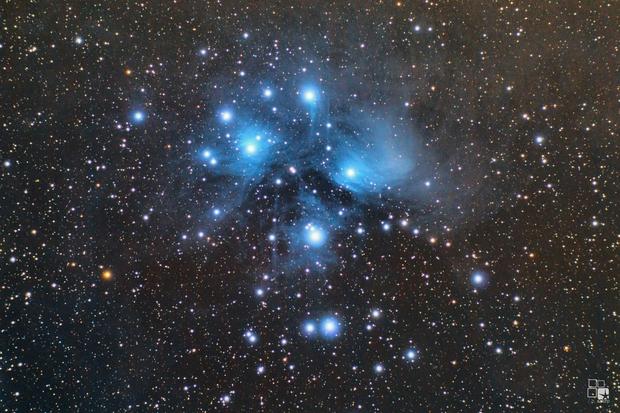 M45, the Pleiades with Evostar 72ED,                                Nico Augustin
