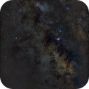 M8, M20, M16, M17 - Core of Milky Way,                                Star Hunter