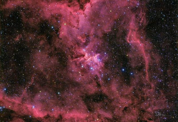 IC1805 Heart Nebula,                                Jerry Huang