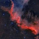 NGC 7000 HA Y OIII ,                                joperenclo