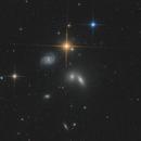 Hickson Compact Group 68; NGC 5371 and Supernova 2020bio,                                Falk Schiel