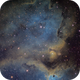 IC1848 head of Soul Nebula and IC1871,                                Fernando Huet