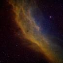 California Nebula in Narrowband,                                Aaron Freimark
