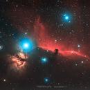 IC 434 La nébuleuse de la tête de cheval,                                Stephane Jung