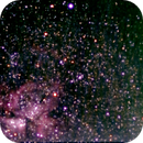 Eta Carina con camara planetaria Zwo asi034,                                Sergio Babino