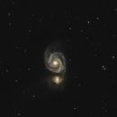 M51 - Whirlpool Galaxy,                                Wayne