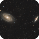 M81 & M82,                                Ymevel
