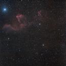 Sh2-185 - IC63 - IC59 - Gamma Cassiopeiae,                                Roberto Botero