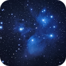 Pleiades 2018-10-10 (bluer),                                stricnine
