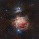 M 42 The Orion Nebula DSLR Rework,                                Stefan-Harry-Thrun