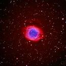 NGC 7293 Helix Nebula,                                Gilbert Ikezaki