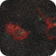 IC 1848 & IC1805 (Soul & heart nebulae) / Canon 100D + Canon 200mm L f/2.8 / Star adventurer,                                patrick cartou