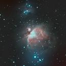 Orion nebula,                                Ben