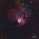 NGC 2467,                                Alberto Tomatis