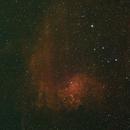 IC 405  - the Flaming Star Nebula - HSO - Redux,                                Sigga