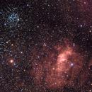 Bubble Nebula - M52 - LHaRHB in the mix for color-blinds like me!,                                Rodolphe Goldsztejn