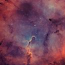 IC1396 in HOO,                                OlympusMons-UMONS