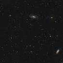 NGC 5033 and surrounding galaxies,                                Simon