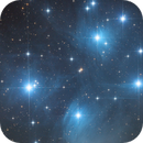 Pleiades - open cluster in Taurus,                                Herbert_W