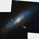 M31 Andromeda Galaxy (Dati Digitized Sky Survey),                                Gianluca Belgrado