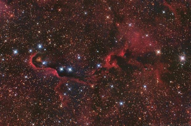 IC 1396, Elephant's Trunk,                                Big_Dipper