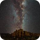 Milky Way over the wilderness,                                Lorenzo Palloni