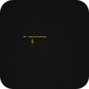 M31 - Andrômeda Galaxy - 08/08/2016,                                Geovandro Nobre