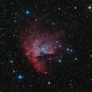 Pacman Nebula NGC281,                                F83eric