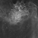 The Flaming Star Nebula IC405 in 3nm Ha,                                Michael Mantini