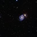 M51 - Galassia Vortice,                                FabbianFra