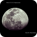 Moon 2-23-21 Reprocessed,                                Van H. McComas