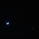Moon, Mars, Venus Triangle,                                drivingcat