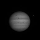 Animation de Jupiter au matin du 08 août 2012,                                Philastro