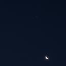 Rapprochement Lune-Jupiter,                                Alphamax