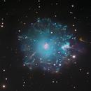 NGC 6543 - Cats Eye Nebula - Telescopio Nazionale Galileo and Hubble core :-),                                Daniel Nobre
