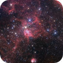IC417 and NGC 1931, The Spider and the Fly,                                Ginge Anvik