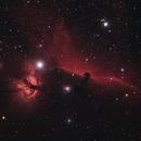 IC 434 Horsehead/Flame Nebula,                                thezenithphoenix
