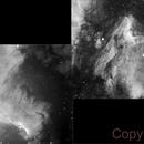Mosaico NGC7000 + IC5070,                                jose