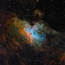 M16 Narrowband 6nm Astronomikfilter Crop,                                Caspar Schumann